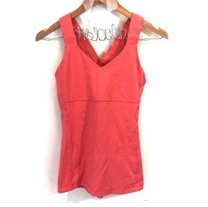 Lululemon Push UR Limits Tank in Coral 8